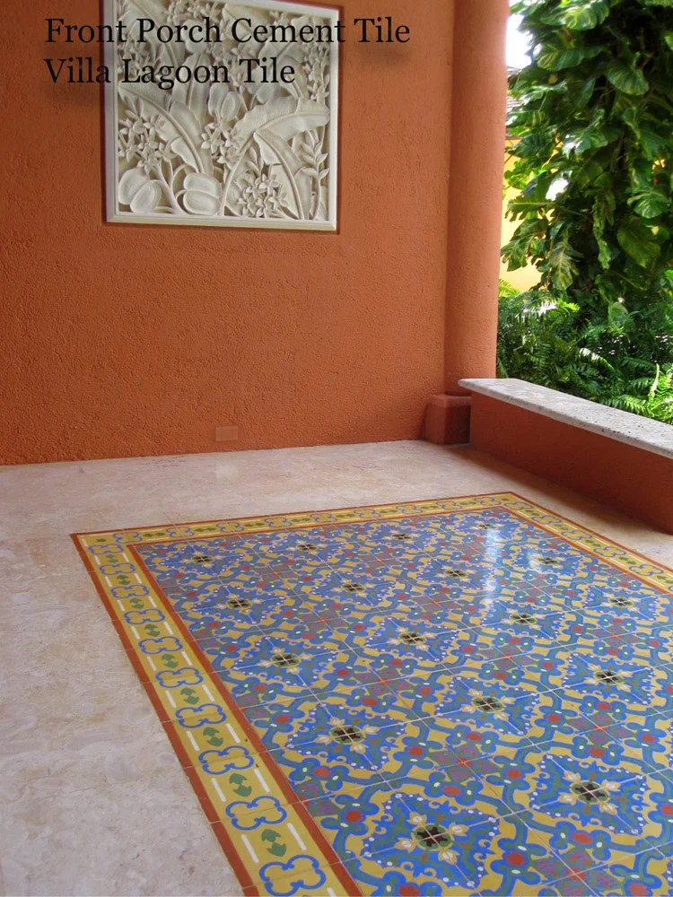 cement tile borders pull it all
