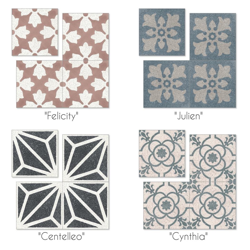 quick look terrazzo cement tile