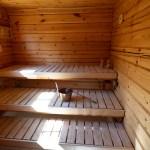 Iso oma sähkösauna. Electric sauna.