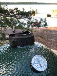 Big Green Egg grilli on Private Cheffin käytössä