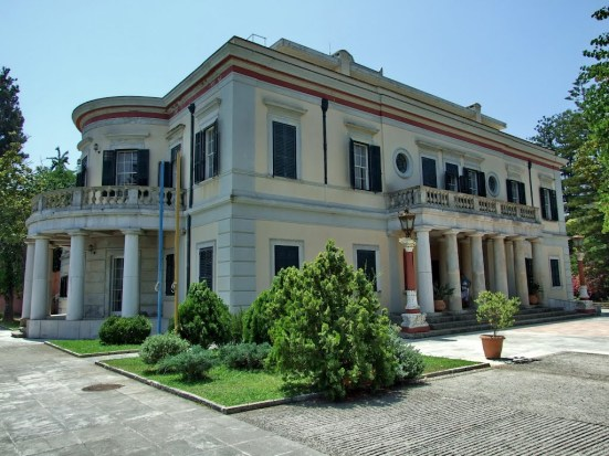 Sights of Corfu - Mon Repos Palace