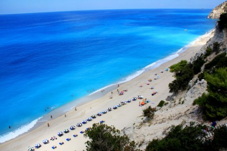 Amazing beach in Lefkada