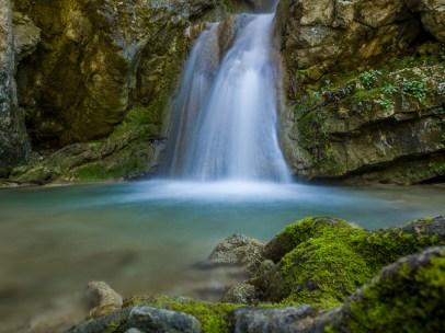 The waterfalls of Nydri, Lefkada