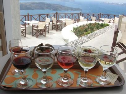 The wines of Santorini