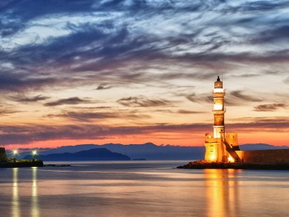Venetian Lighthouse in Chania