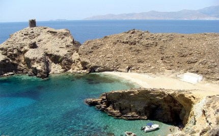 Pyrgos beach - Andros holidays