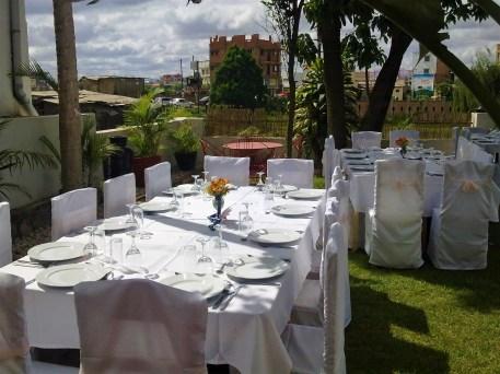 Jardin & Terrasse - Villa Mahefa