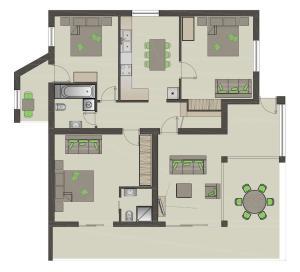 Apartment 6 to 8 in Villa Makarana Makarska
