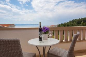 Sea view terracce