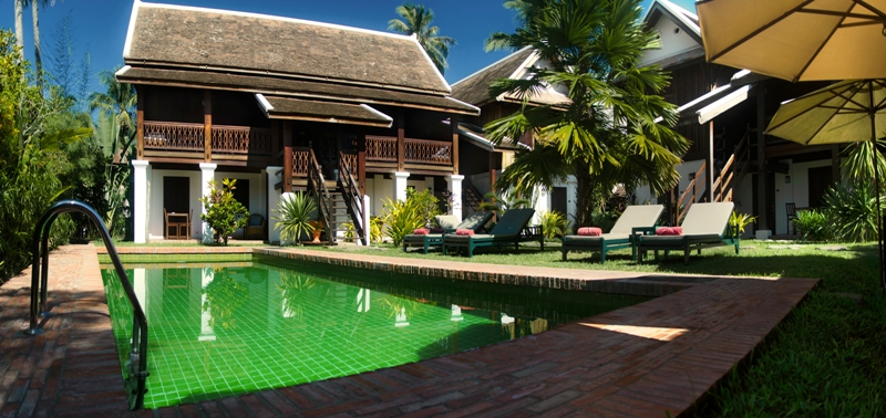 Swimming pool - Villa Maydou Boutique Hotel, Luang Prabang