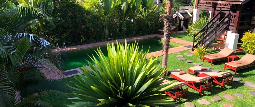 Swimming pool - Villa Maydou Boutique Hotel, Luang Prabang