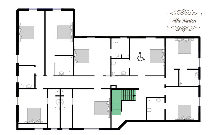 blueprint - upper floor