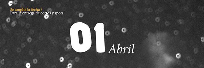 ¡Se amplía la fecha de entrega de trabajos al 1 de abril!