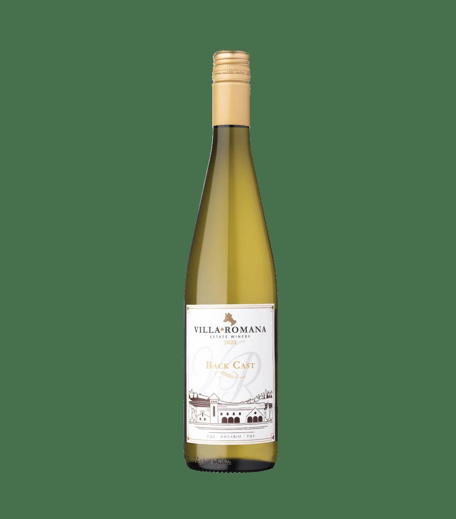 A bottle of 2020 Back Cast White Blend wine from Villa Romana Estate Winery