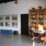 Woonkamer en bibliotheek