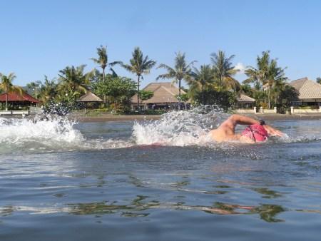 Zwemmen voor Villa Senang