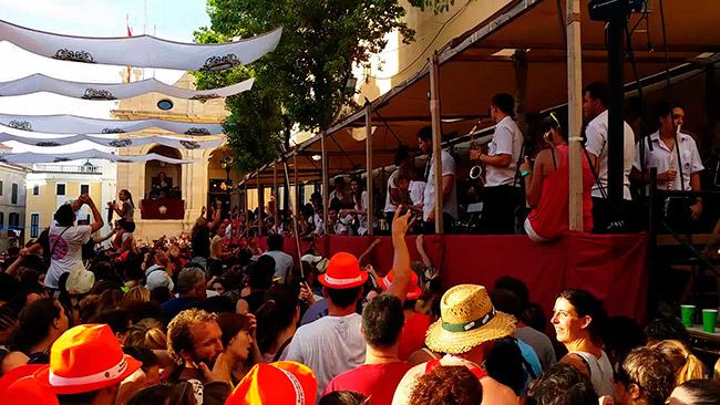 Fiesta Mare de Déu de Gràcia Menorca - Villas Etnia