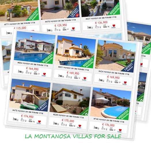 Buy Villas in La Montanosa, Hondon Valley