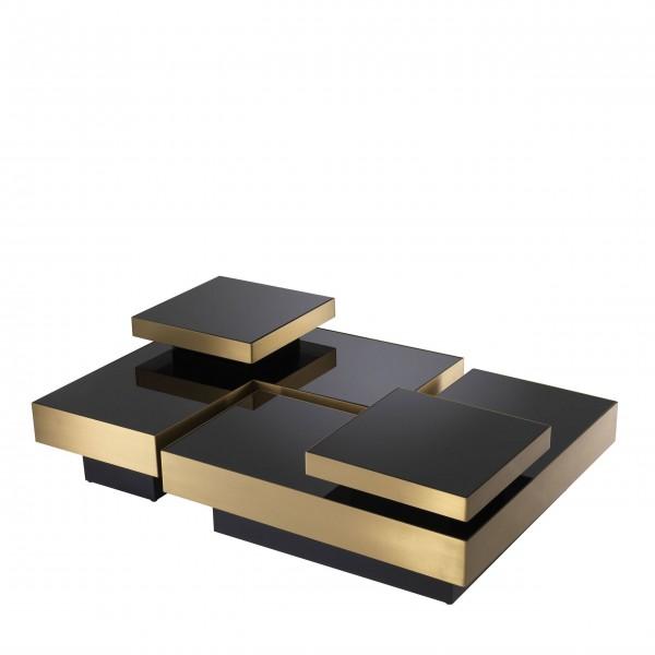 eichholtz coffee table nio brass set von 4 stk