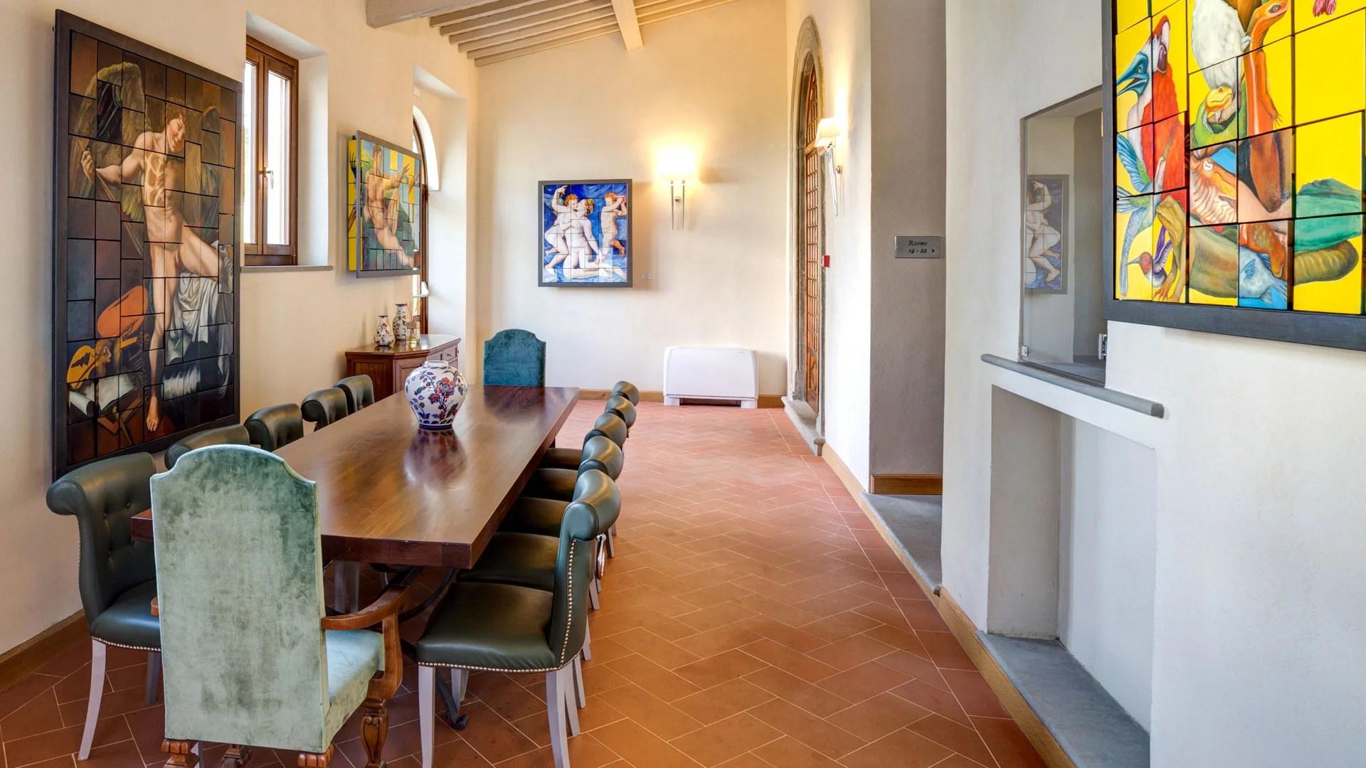 Cene aziendali - Villa Tolomei Hotel & Resort 5 stelle
