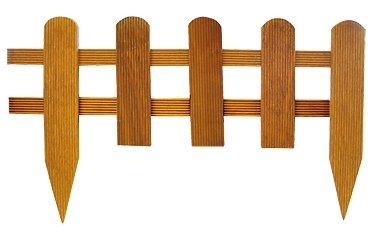 bordure droite en bois exotique a