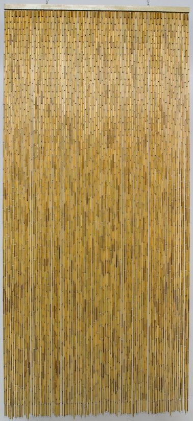 rideau de porte naturel 90 x 200 cm
