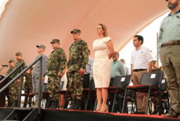 Alcalde de Villavicencio acompañó transmisión de mando de la Cuarta División del Ejército