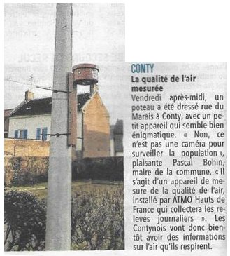 Article du Courrier Picard du 26 janvier 2021