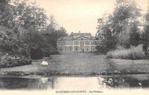 Le château de Luzières