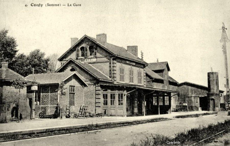 Conty - La Gare