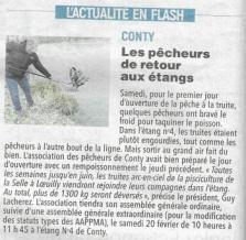 Article du Courrier Picard du 19 février 2021