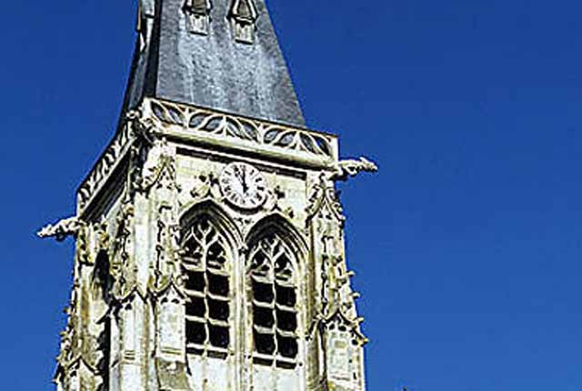 Clocher de l'église