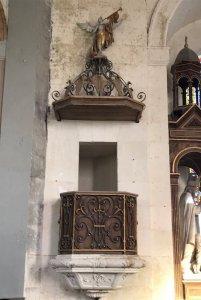 Chaire de l'église de Wailly