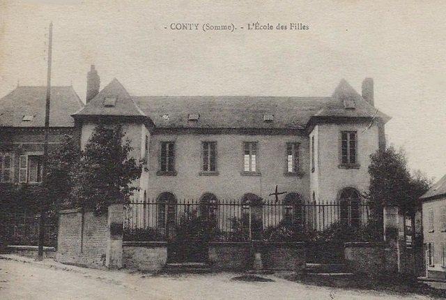 Conty - L'école des filles