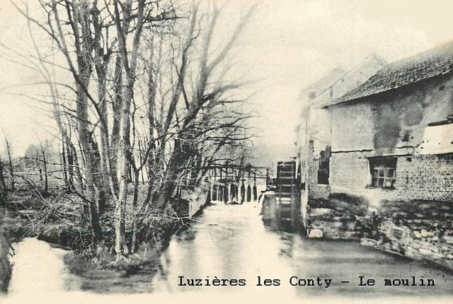 Luzières - Le moulin