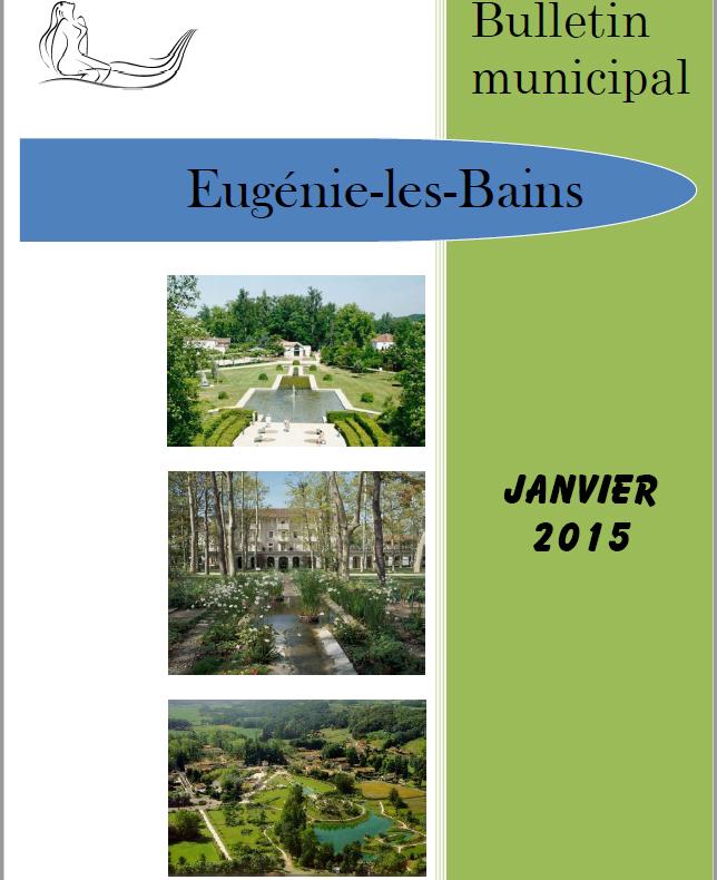 Edition JANVIER 2015