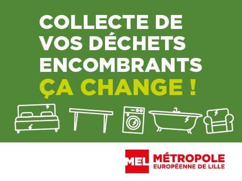 Collecte des déchets encombrants , ça change !
