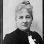 Portrait de Juliette Adam le peintre d'Issoncourt en 1894