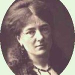 Juliette Adam photographiée par Nadar en 1896