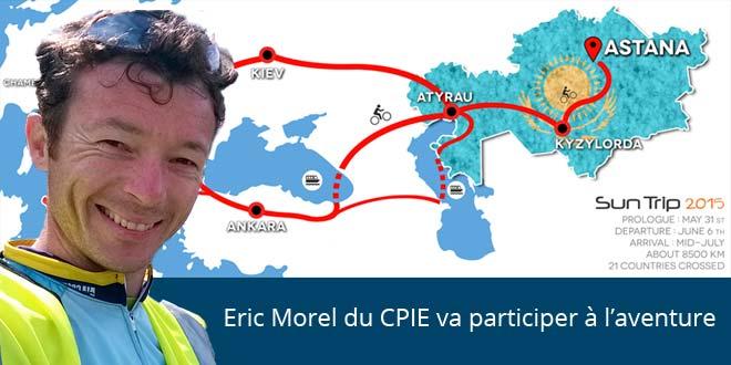 Eric Morel va participer au Sun Trip 2015