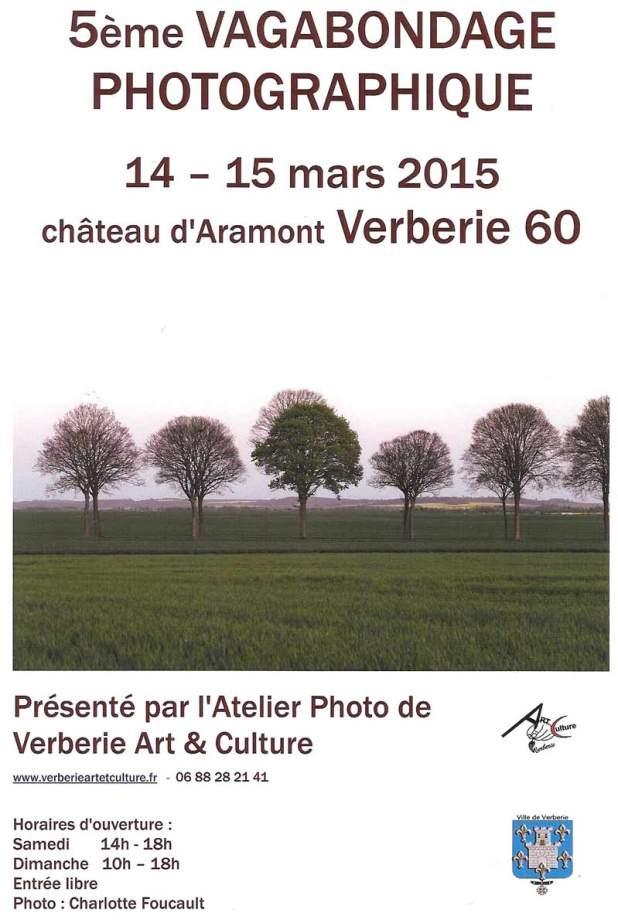 5ème vagabondage photographique les 14 et 15 mars 2015 au château d'Aramont