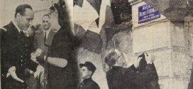 Inauguration de l'avenue René Firmin