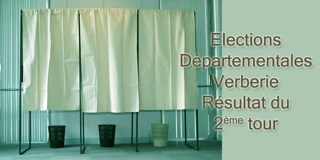 Résultat des élections départementales 2ème tour