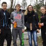 Equipe VTT du collège d'Aramont à Verberie
