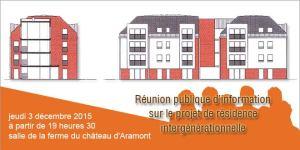 Réunion publique d'information @ Salle de la ferme du château d'Aramont | Verberie | Picardie | France