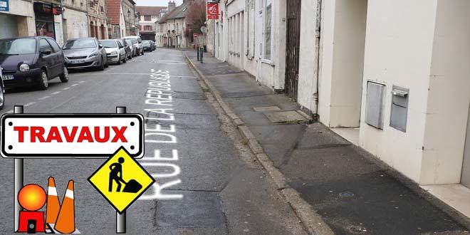 Travaux rue de la République pour un vrai centre ville