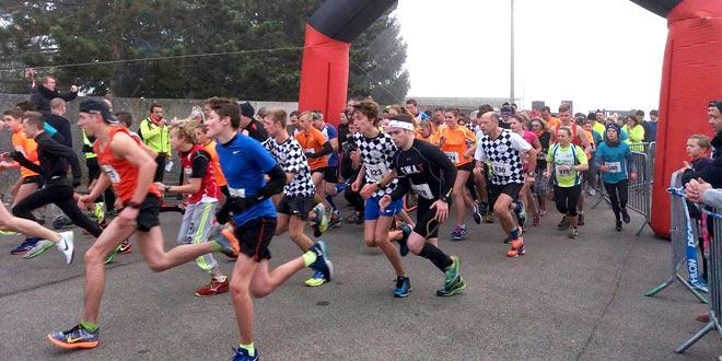 Saut'Trail : de nombreux participants.
