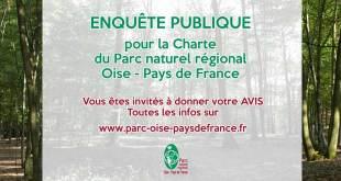 Donner votre avis sur l'adhésion de notre commune au Parc Naturel Oise Pays de France