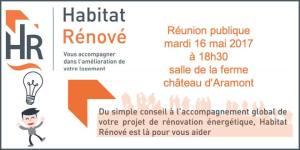 Réunion Habitat Rénové @ Salle de la ferme du château d'Aramont | Verberie | Hauts-de-France | France