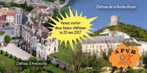 Sortie au château d'Ambleville et de la Roche-Guyon @ Château de la Roche-Guyon | La Roche-Guyon | Île-de-France | France